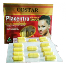 Nhau Thai Cừu Costar Placenta Gold Plus 50000mg