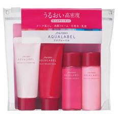Bộ sản phẩm dưỡng da mặt Shiseido Aqualabel